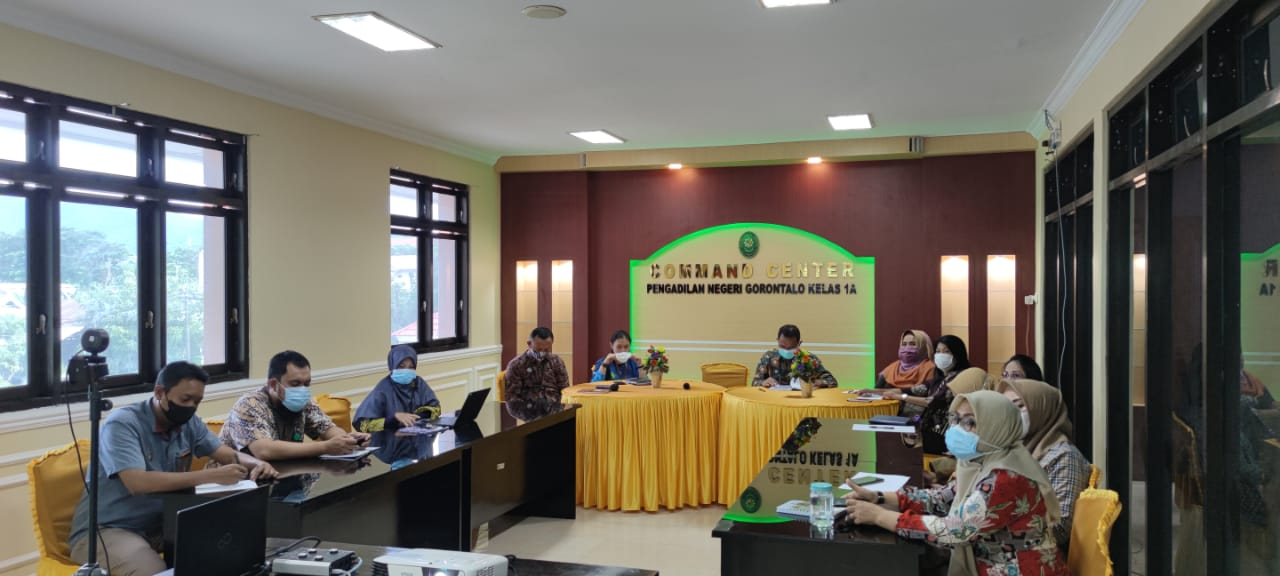 Sosialisasi Aplikasi Sistem Informasi Perpanjangan Penahanan oleh Pengadilan Tinggi Gorontalo